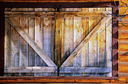 Log Cabin Art Art - Shuttered by The Forests Edge Photography - Diane Sandoval