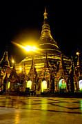 Rangoon Art - Shwedagon Paya - Yangoon by Luciano Mortula