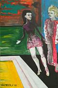 Shy Guy Dance Floor Print by Eric Beverly