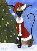 Santa Claus Originals - Siamese Queen of Christmas by Jamie Frier