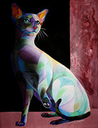 Sherry Shipley - Siamese Shadow Cat 1