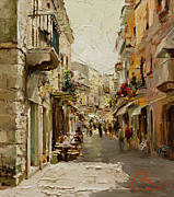 Relax Paintings - Sicilian Noon by Oleg Trofimoff