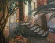 Sicilian Nunnery Print by Donna Tuten