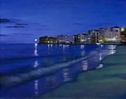 Sicilian Sunset Print by Cecilia  Brendel