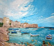 Sicily Paintings - Sicily by Zina Ghulmiyyah raad