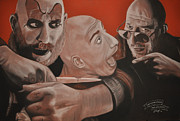 Spider Drawings Framed Prints - Sid Haig Framed Print by Joe Dragt