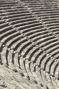 Outdoor Theater Prints - Side Amphitheatre 01 Print by Antony McAulay