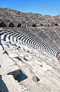 Outdoor Theater Prints - Side Amphitheatre 02 Print by Antony McAulay