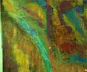 Anne-Elizabeth Whiteway - Side of the Mountain Abstract