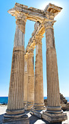 Roman Ruins Posters - Side Temple of Apollo 20 Poster by Antony McAulay