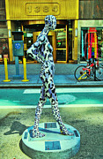 Broadway Photo Posters - Sidewalk Catwalk 7 Poster by Allen Beatty