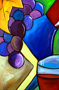 Wine Canvas Paintings - Sideways by Fidostudio by Tom Fedro - Fidostudio