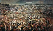 1696 Posters - Siege Of Vienna By Turks 1683. Battle Poster by Everett