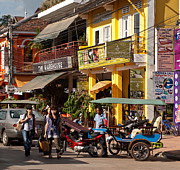 Shopper Prints - Siem Reap 03 Print by Rick Piper Photography