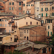 Medieval City Photos - Siena Italy by Kim Fearheiley