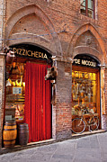 Italian Shopping Framed Prints - Siena Storefront Framed Print by Brian Jannsen
