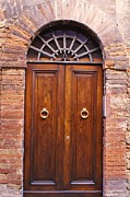 Sienna Door Print by Barbara Stellwagen
