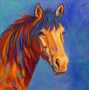 Bright Colors Art - Sienna by Theresa Paden