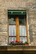 Sienna Italy Prints - Sienna Window Print by Barbara Stellwagen