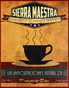 Winter Travel Posters - Sierra Maestra Cuban Coffee Poster by Cinema Photography