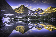 Little Lakes Valley Framed Prints - Sierra Morning Framed Print by Robert Bowman