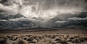 Desert Storm Framed Prints - Sierra Thunderstorm Framed Print by Cat Connor