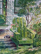 Fineartamerica.com Paintings - Siesta by Joy Nichols