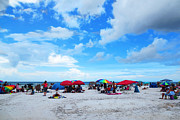 Relax Prints - Siesta Key Summer - Beach Art By Sharon Cummings Print by Sharon Cummings