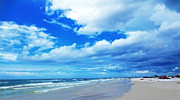Buy Art Photo Prints - Siesta Sky - Beach Art By Sharon Cummings Print by Sharon Cummings