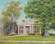 Fraternity Painting Prints - Sigma Chi DePauw Print by Steve Haigh
