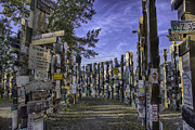 Watson Lake Photos - Sign Post Forest by Jayme Spoolstra