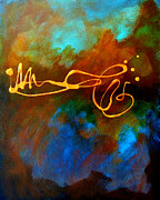 Splat Paintings - Signature by Nancy Merkle