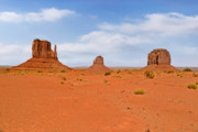 Panoramic Framed Prints - Signatures of Monument Valley Framed Print by Christine Till