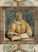 Luca Framed Prints - Signorelli, Luca 1445-1523. Ovid. 1499 Framed Print by Everett
