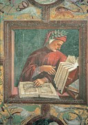 Red School House Photos - Signorelli Luca, Dante Alighieri, 1499 by Everett
