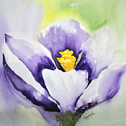 Spring Time Paintings - Signs of Spring by Tricia Gooch