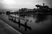Havn Prints - Silent at the harbour Print by Michael B Rasmussen