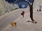 Moonlit Night Prints - Silent Night Print by Marilyn Detwiler