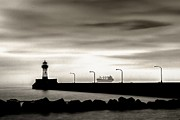 Duluth Photos - Silent Ship by Mary Amerman