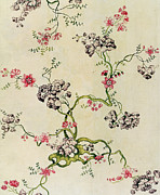 Pattern Prints - Silk design Print by Anna Maria Garthwaite