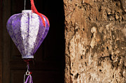 Old Wall Prints - Silk Lantern 02 Print by Rick Piper Photography