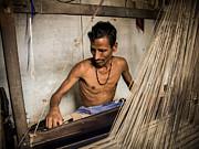 Silk Loom Print by Nila Newsom