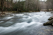 Gatlinburg Tn Prints - Silk Rapids Of Gatlinburg Print by Blake Howard