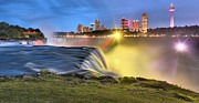 Adam Jewell - Silky Niagara Falls Panoramic Sunset