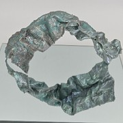 Featured Sculpture Originals - Silver Arch by Susan Blackburn