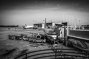 Airlines Photo Originals - Silver Bird by Chris Smith