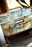 Treasure Box Photos - Silver Box by HD Connelly