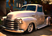 Street Rod Paintings - Silver Bullet by Michael Pickett