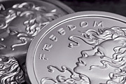 Coin Photos - Silver Bullion Freedom Girl by Tom Mc Nemar
