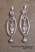 Wirework Jewelry - Silver Capture  100 by Jan  Brieger-Scranton